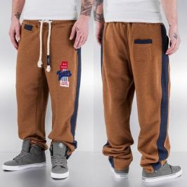 Just Rhyse And Friends Team Sweat Pants Camel - S