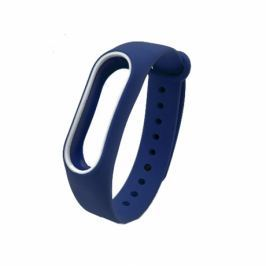 Xiaomi Mi Band 2 Silicone náramok, Dark Blue/White